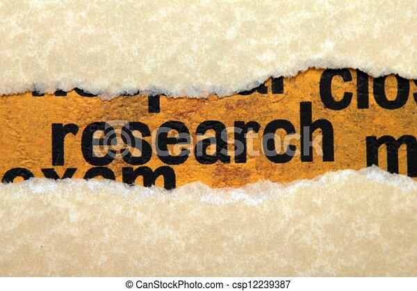 Forschung - csp12239387