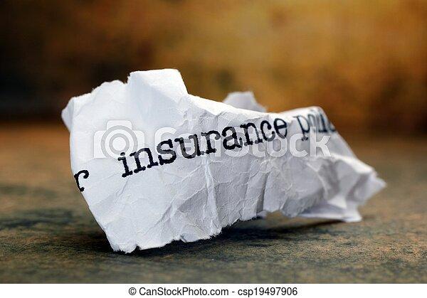 forsikring - csp19497906