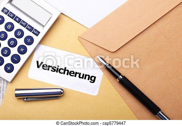 forsikring - csp5779447