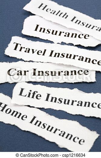 forsikring - csp1216634