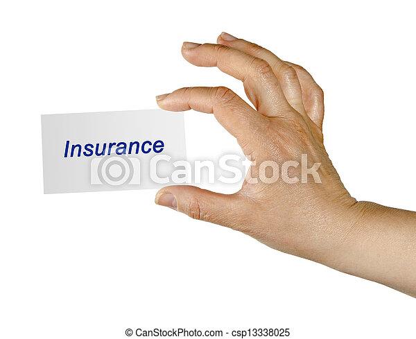 forsikring - csp13338025