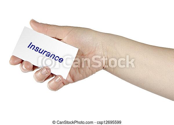 forsikring - csp12695599