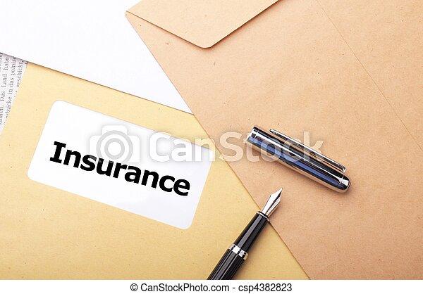 forsikring - csp4382823