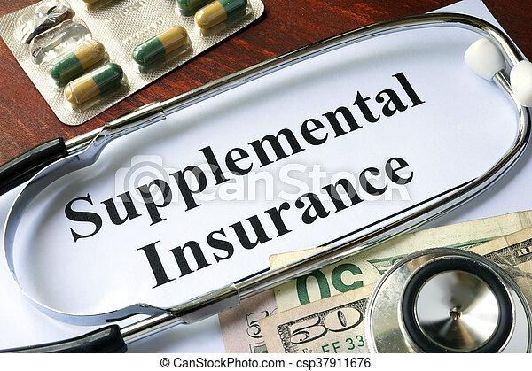 forsikring, supplemental - csp37911676