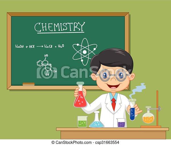 forsker, laboratorium, -, isoleret - csp31663554