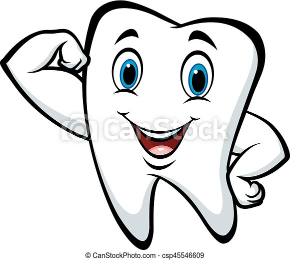 Fort caract re dessin anim dent caract re - Dessin de dent ...
