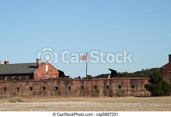 Fort Clinch Florida - csp5897231