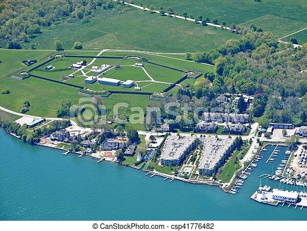 Fort George Niagara-on-the-Lake - csp41776482