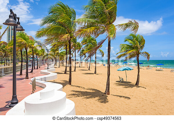 Fort Lauderdale Beach - csp49374563