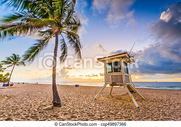 Fort Lauderdale Beach - csp49897366