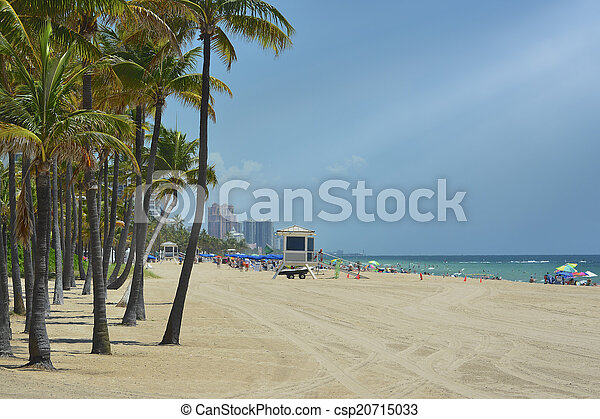 Fort Lauderdale Beach - csp20715033
