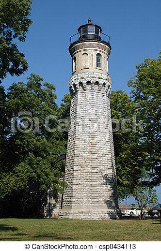 Fort Niagara Light - csp0434113