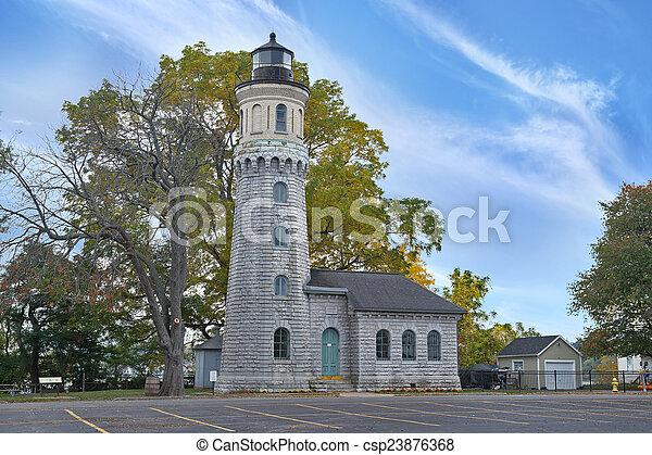 Fort Niagara Lighthouse - csp23876368