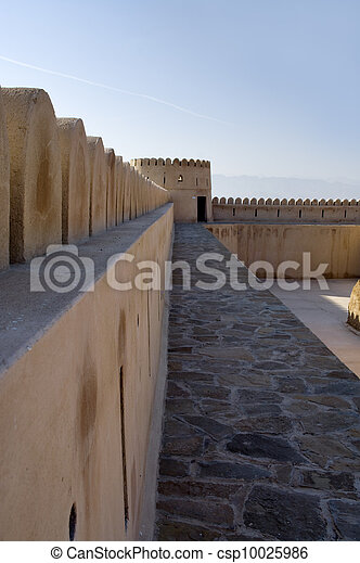 Fort of Sur, Oman. Middle East  - csp10025986