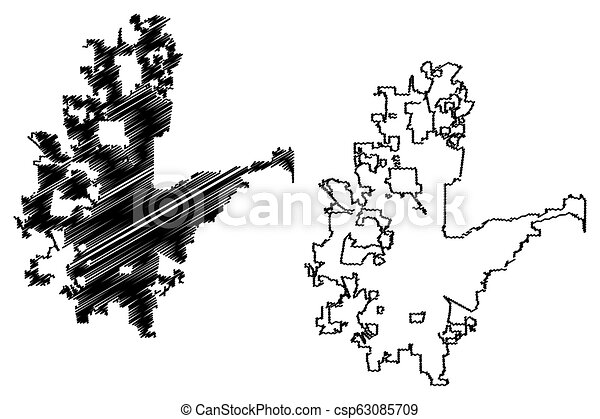 Fort worth city map. Fort worth city ( united states cities, united ...