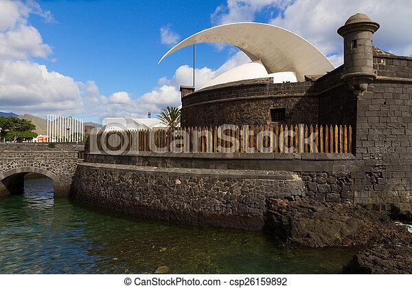 Fortress of San Juan, Tenerife, Spain - csp26159892