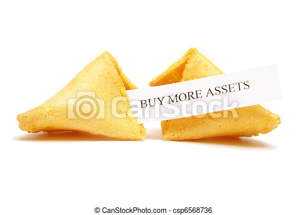Fortune Cookie of Assets - csp6568736