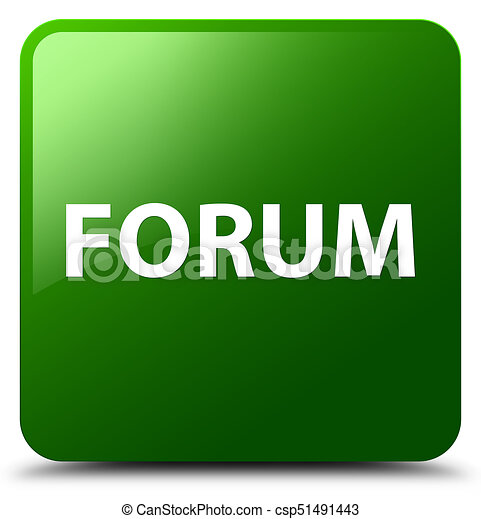 Forum green square button - csp51491443