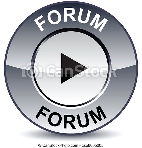 Forum round button. - csp8005005