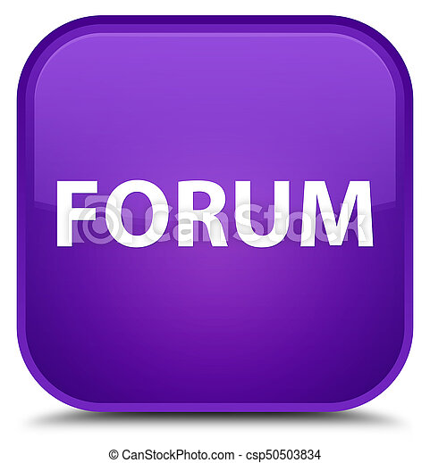 Forum special purple square button - csp50503834