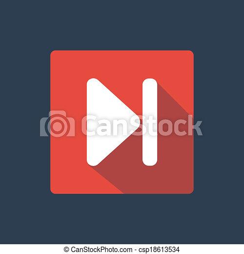 Forward button icon - csp18613534