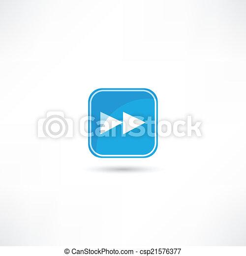 forward icon - csp21576377