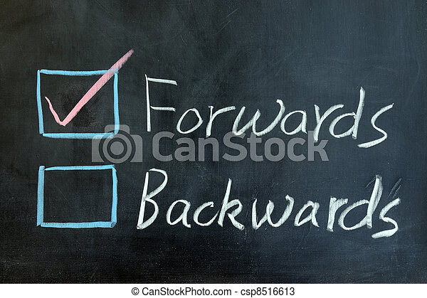 Forwards or backwards - csp8516613
