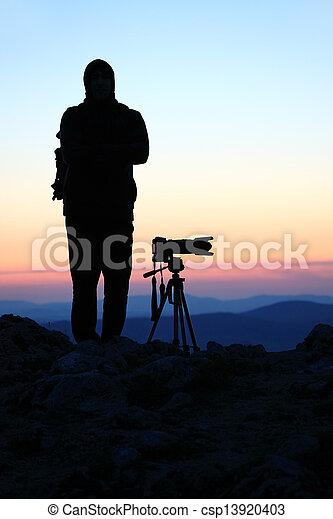 fotógrafo - csp13920403