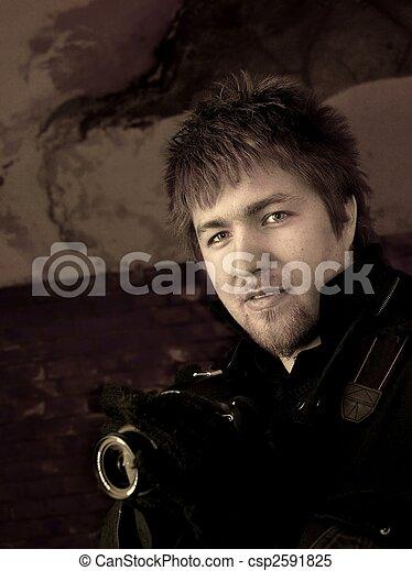 fotógrafo - csp2591825