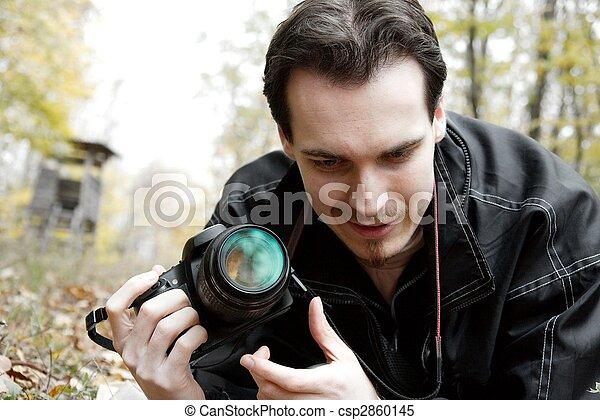 fotógrafo - csp2860145