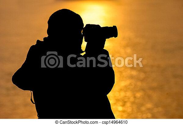 fotógrafo - csp14964610