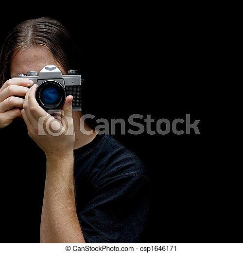 fotógrafo - csp1646171