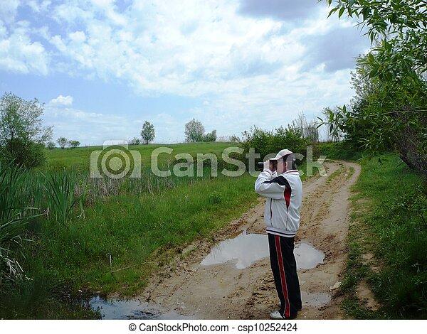 fotógrafo, natureza - csp10252424