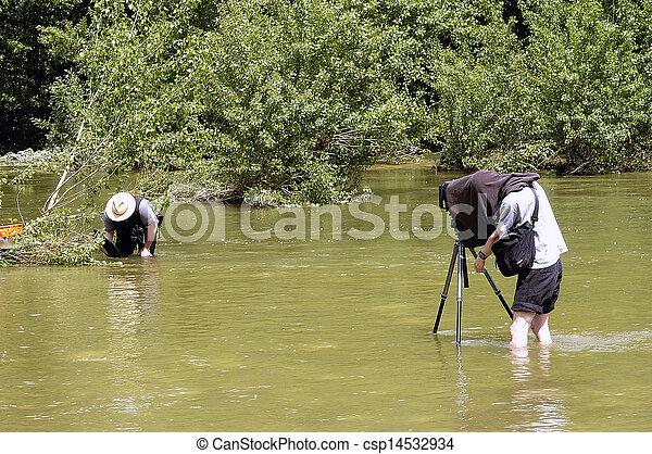 fotógrafo, natureza - csp14532934