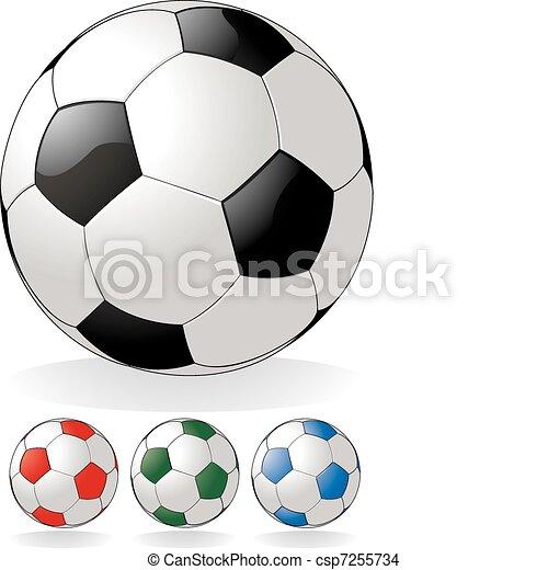 fotboll bal - csp7255734