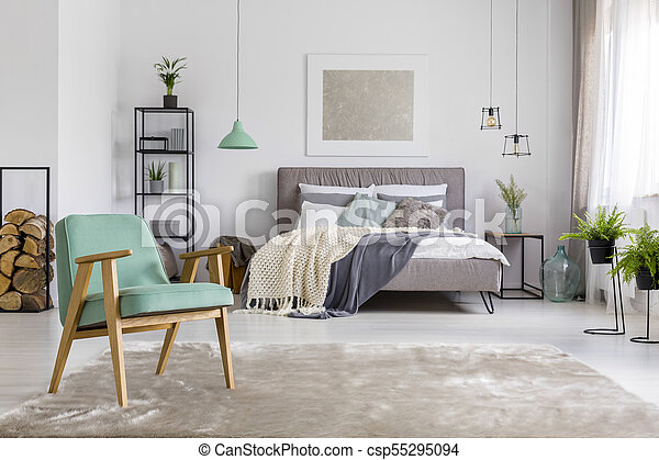 Fotel Obszerny Sypialnia