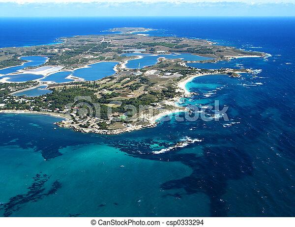 Una foto aérea - csp0333294