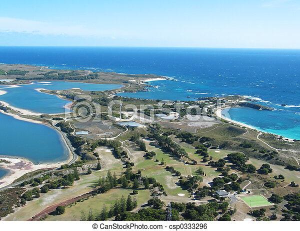 Una foto aérea - csp0333296