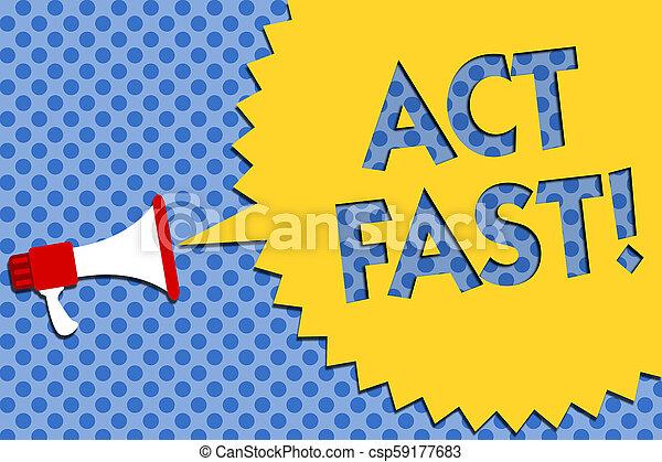 foto, bewegung, idee, geschwindigkeit, lautsprecher, schreibende, staat, begrifflich, megaphon, speech., geschaeftswelt, ausstellung, halftone, fast., initiatively, höchsten, hand, akt, showcasing, freiwillig, laut, schrei, talk - csp59177683