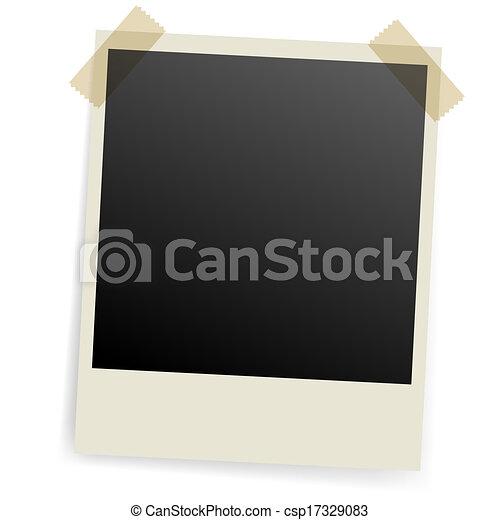 foto, frame. - csp17329083