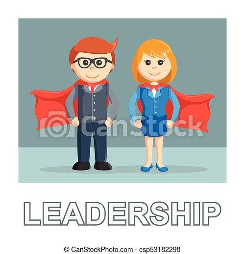 Mensaje fotográfico de liderazgo de negocios - csp53182298
