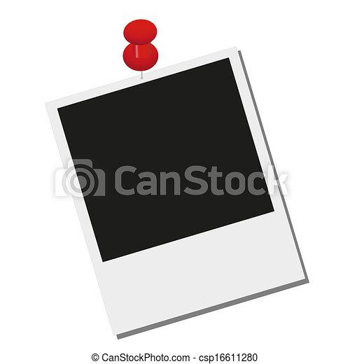 foto, spijkers, hangend - csp16611280