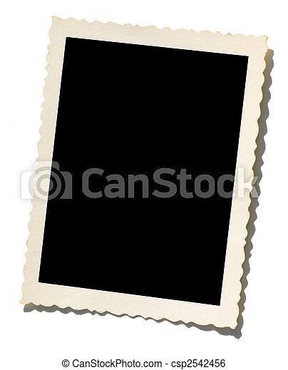 La vieja frontera fotográfica - csp2542456