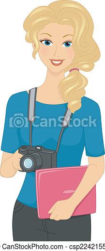 Frauenfotografin - csp22421558