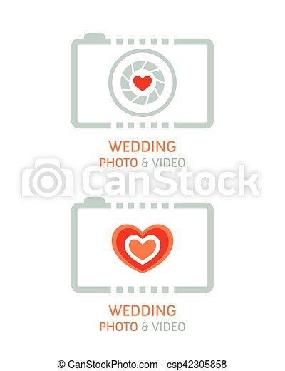 fotografi, video, bryllup - csp42305858