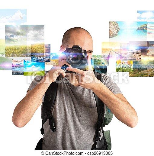 fotografia, paixão - csp26913005