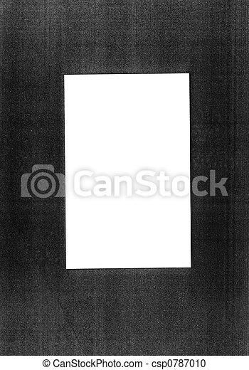 fotokopie, frame - csp0787010