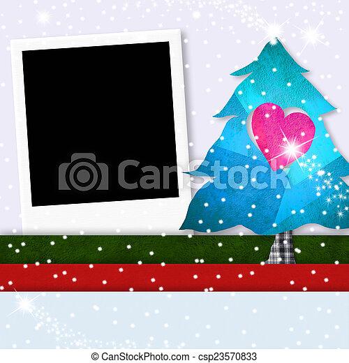 Fotorahmen Weihnachten.Fotorahmen Baum Weihnachten Reizend