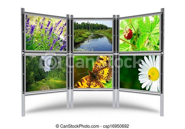 fotos, ausstellungsstand - csp16950692