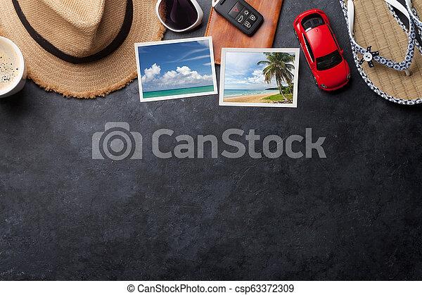 fotos, reise, urlaub, accessoirs - csp63372309